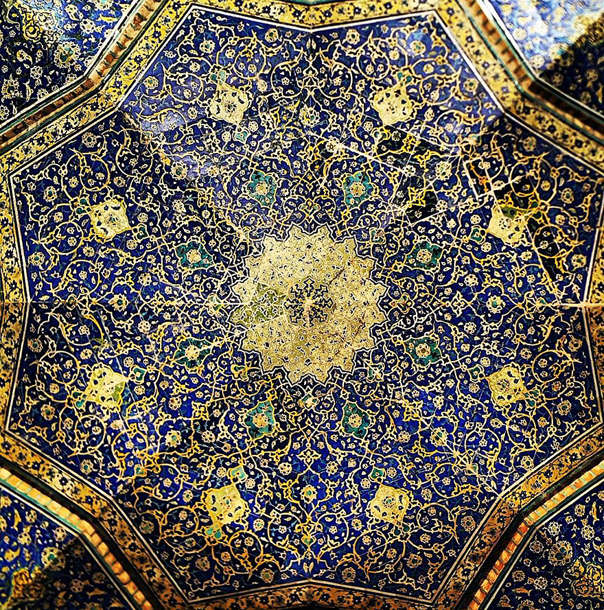 Shah mosque in Esfahan, Iran, 400 years old