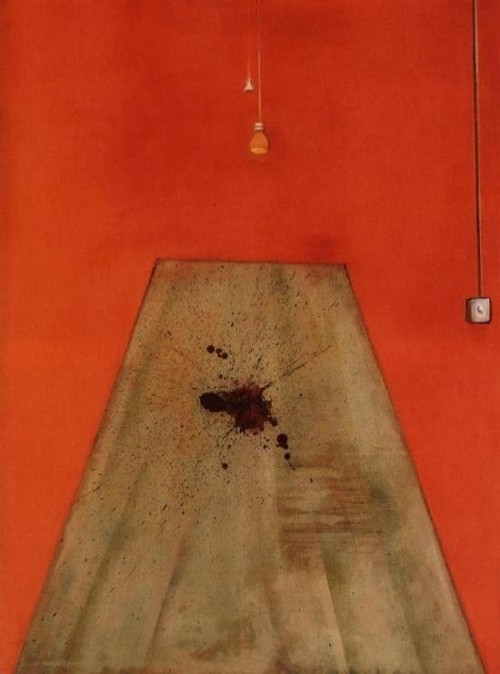 Krv na podu (Blood on the Floor–Painting) 1986