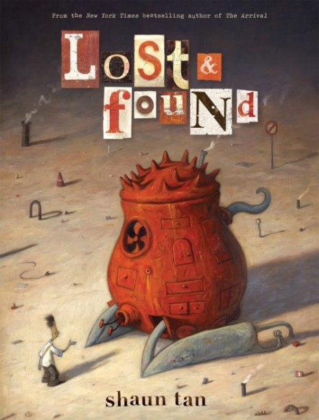 "Постер филма: енг. ""The lost thing"" или ""Lost and found"""
