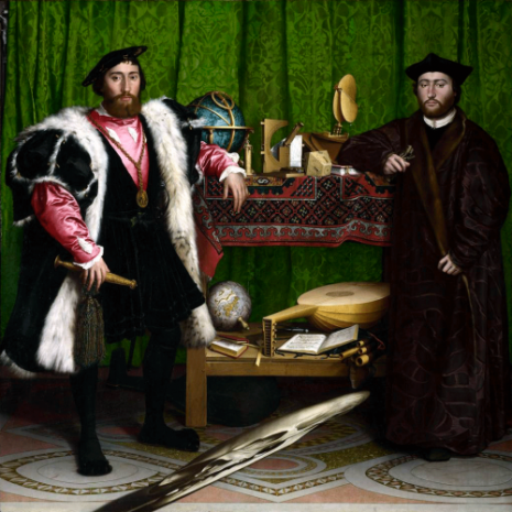 Hans Holbein - The Ambassadors