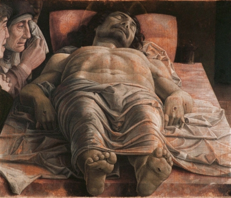 Mantegna - Lamentation Over The Dead Christ