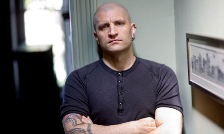 Down to a science … three-time Arthur C Clarke award winner China Miéville.