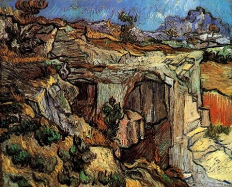 Entrance to a Quarry near Saint-Remy, 1889 - Van Gogh