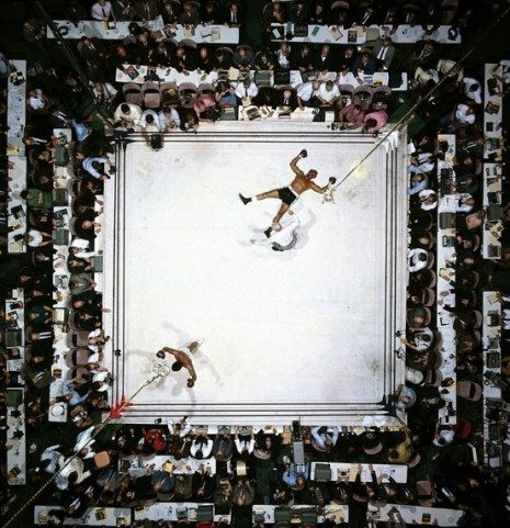Muhammad Ali vs. Cleveland Williams by Neil Leifer