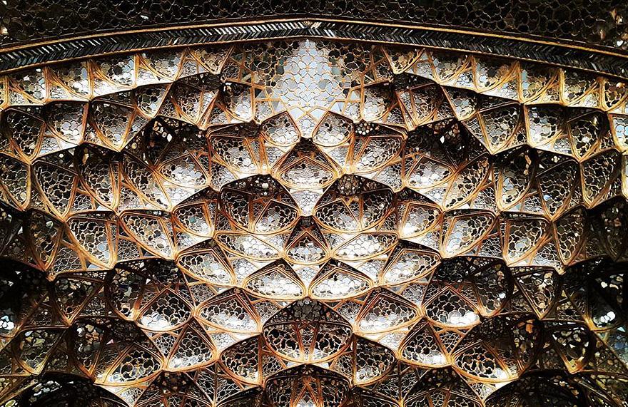 Chehel-soton's palace in Esfahan, Iran