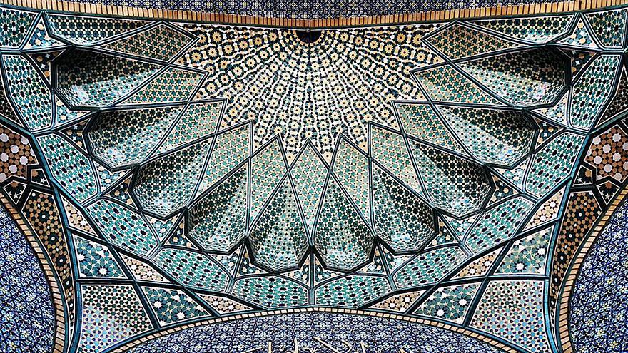 Hazrate-Masomeh's mosque in Qom, Iran 1