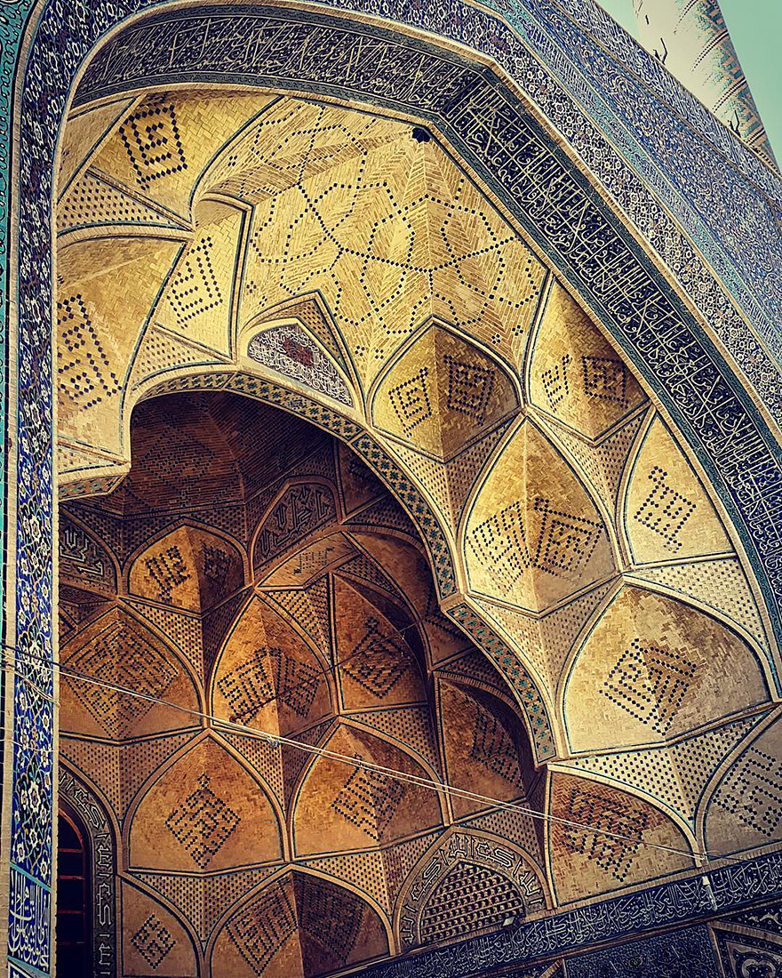 Jameh's mosque in Esfahan, Iran, 900 years old 2