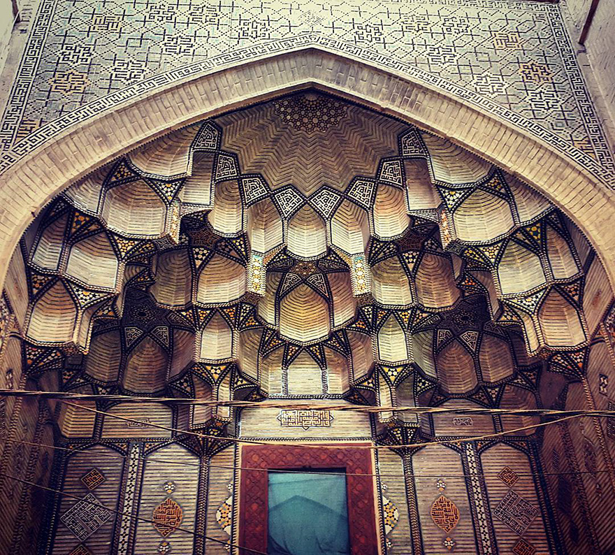 Jameh's mosque in Esfahan, Iran, 900 years old