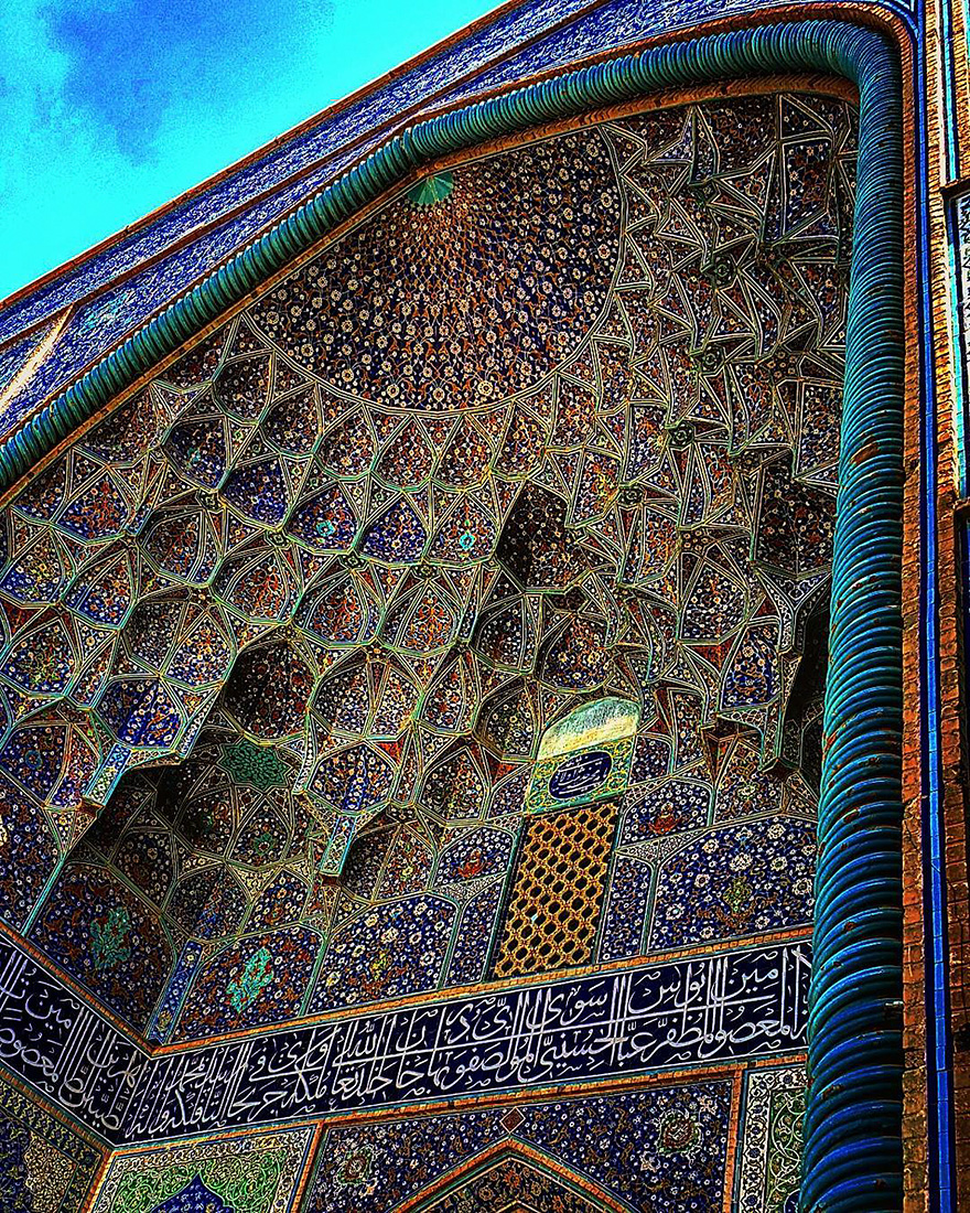 Sheikh Lotfollah mosque in Esfahan, Iran, 400 years old