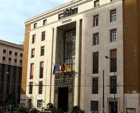 Provincial Admin. building  (1936. architects, M. Canino and F. Chiaromente)