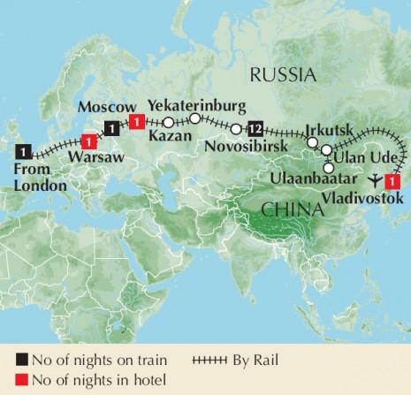 Trans-Siberian Express 2010