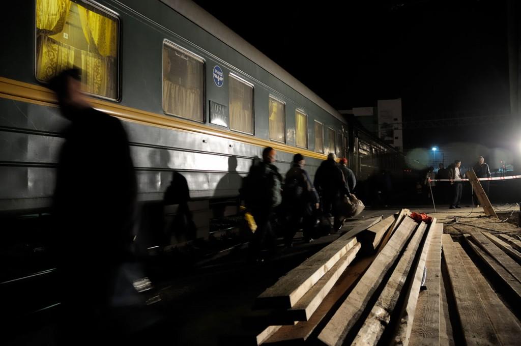 Transsiberian stop at Novossibirsk