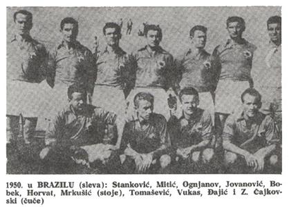 Jugoslavija na Svetskom prvenstvu u Brazilu 1950.