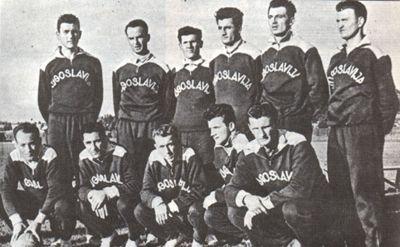 """Čuveni jugoslovenski """"Olimpijski tim"""" u Helsinkiju 1952."""