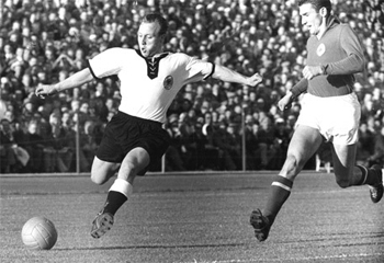 Detalj sa meča četvrt-finala, Nemačka-Jugoslavija 1:0