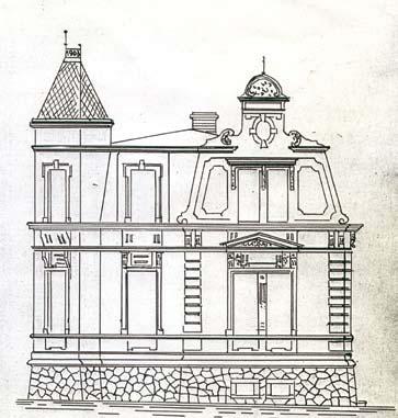 Izgled fasade kuće Henriha Lilera iz 1903.