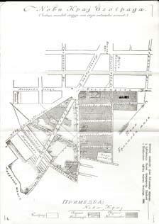 Plan Englezovca, 1886.