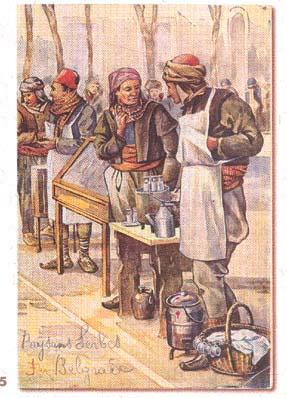 Mlekadžija i prodavac šećerlema