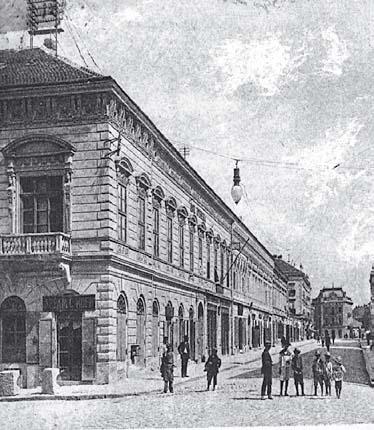 Kuća Hrisante Kumanudi, oko 1915.