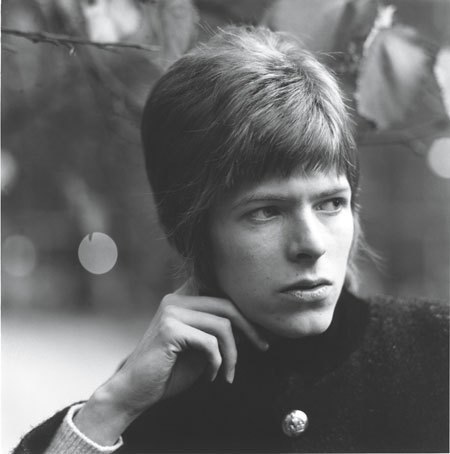 David Bowie1966 by David Wedgbury