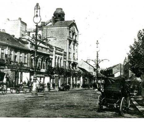 Četvorospratna zgrada Praške kreditne banke, 1928.