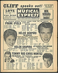 new musical express 1963