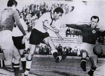 Nemačka-Jugoslavija 1:0 - duel Walter-Boškov