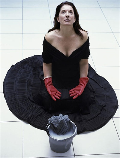 Marina Abramovic 2006 Cleaning the House
