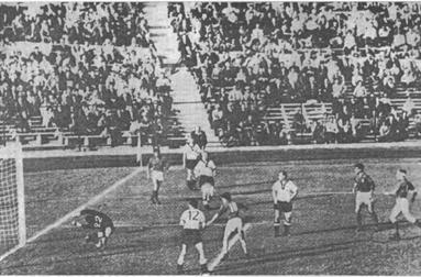 Jugoslavija-Nemačka 1:0, gol Petra Radakovića