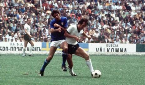 Polufinale Mundijala u Meksiku 1970. - Italija-Nemačka