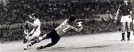 Detalj sa finalnog meča u Rimu 1968.