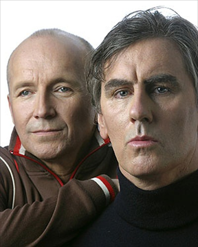 Grant McLennan (L) and Robert Forster