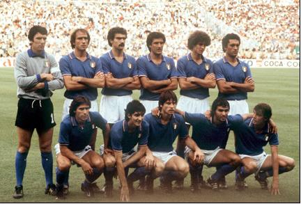 Pobednik Mundijala 1982. - Italija