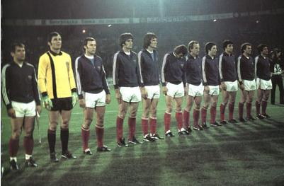 Jugoslovanski tim na EP 1976.