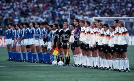 Reprezentacije Argentine i Nemačke pred finalni meč