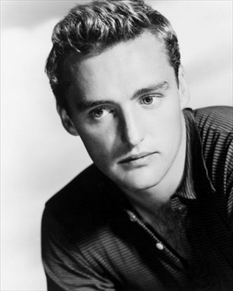 Dennis Hopper in an early 1950s Hollywood portrait