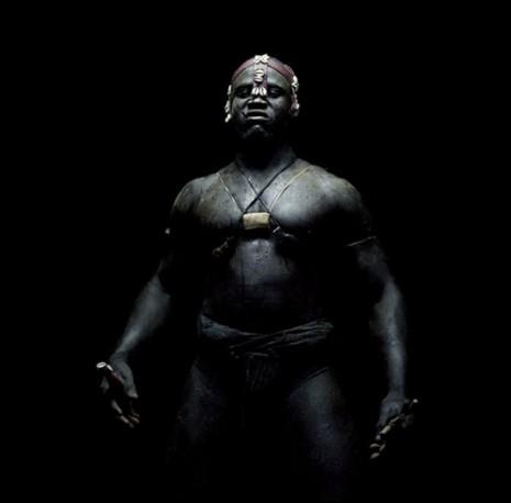 Rouvre1 senegalski wrestler