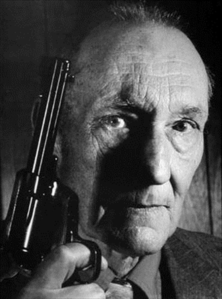 William-S-Burroughs-w-gun