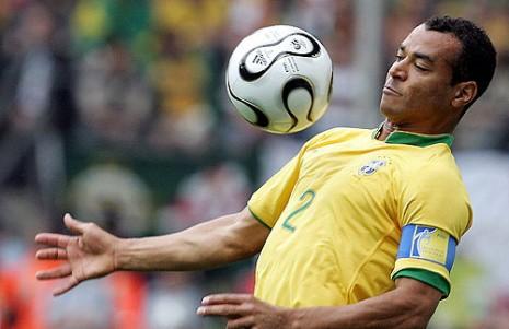 Cafu - igrao tri puta u finalima Mundijala