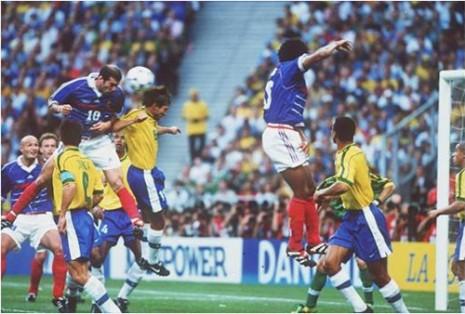 Detalj sa finalnog meča Francuska-Brazil