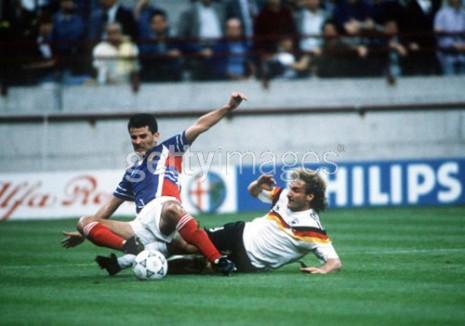 Nemačka-Jugoslavija 4:1 - duel Jozića i Rudija Vollera