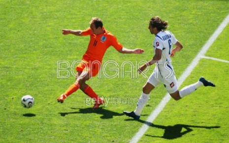 Holandija-SCG 1:0, Robben