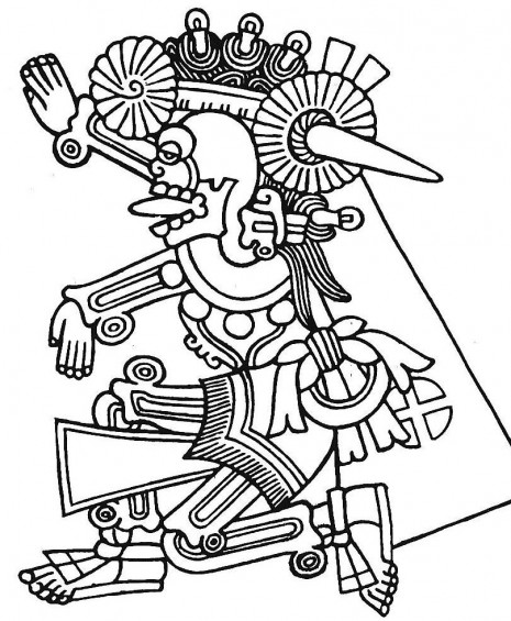 Image Result For Mayan Coloring Pages