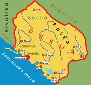 Kraljevina Duklja za vreme Bodina