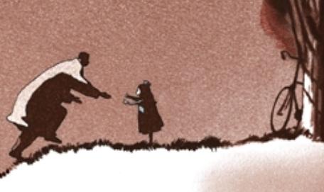 Michaël Dudok de Wit, kratki animirani film : Otac i ćerka