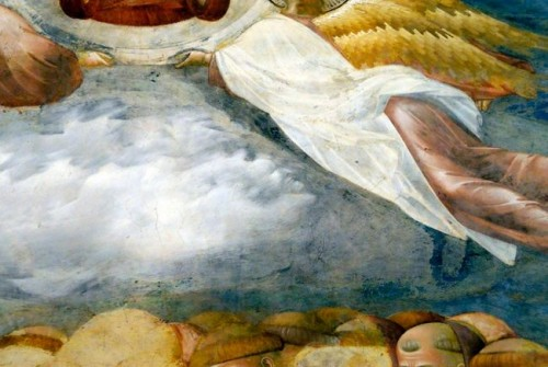 Giotto di Bondone / Djoto /  - Page 2 A-detail-of-a-fresco-by-Giotto-in-the-Basilica-of-St-Francis-in-Assisi-500x335