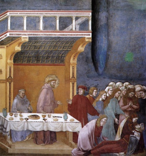 Giotto di Bondone / Djoto /  - Page 2 Legend-of-St-Francis-16.-Death-of-the-Knight-of-Celano-500x534