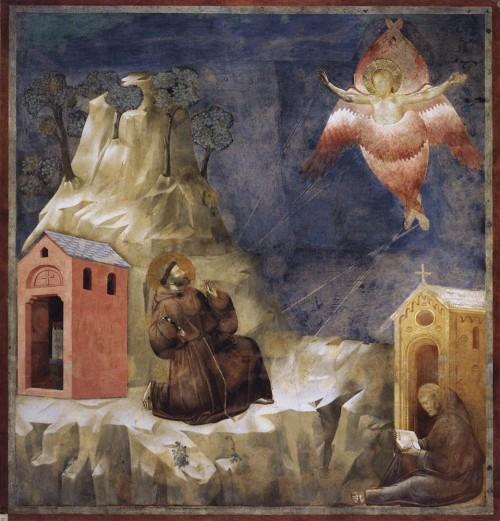 Giotto di Bondone / Djoto /  - Page 2 Legend-of-St-Francis-19.-Stigmatization-of-St-Francis-500x521