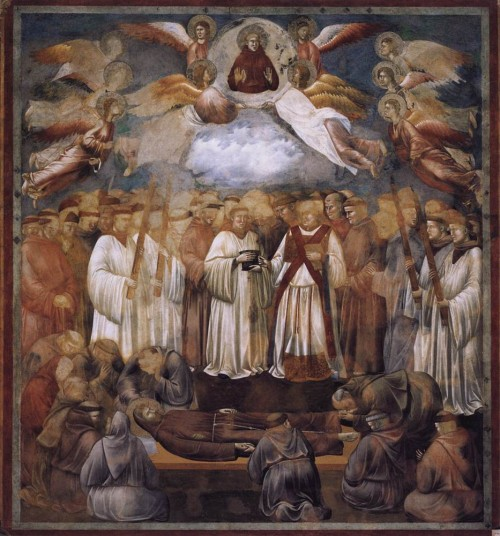 Giotto di Bondone / Djoto /  - Page 2 Legend-of-St-Francis-20.-Death-and-Ascension-of-St-Francis-500x536
