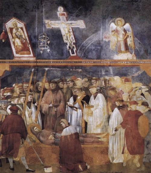 Giotto di Bondone / Djoto /  - Page 2 Legend-of-St-Francis-22.-Verification-of-the-Stigmata-500x575